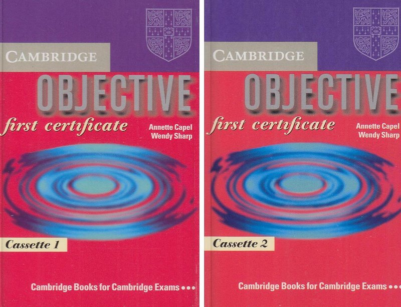 Objective First Certificate cassettes(2)
